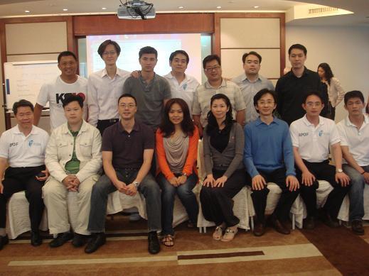 台灣酸痛關懷協會成員照